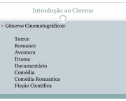 Gêneros do Cinema (11)