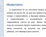 Movimento Literário Modernista (1)