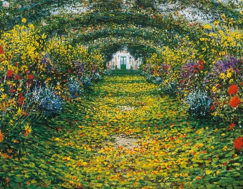 O impressionismo de monet cultura cultura mix for Jardines de monet